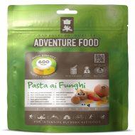 Adventure cheese & mushroom pasta